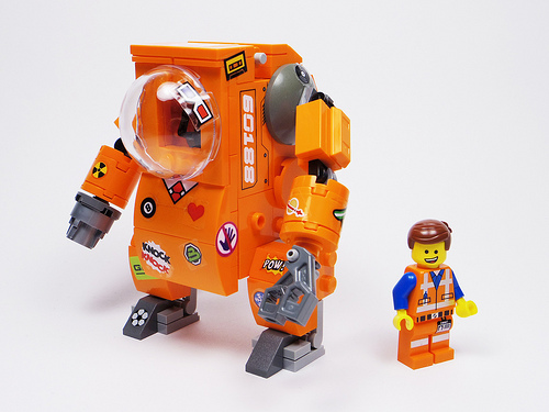 Emmet's Rescue Mech Suit for Lucy