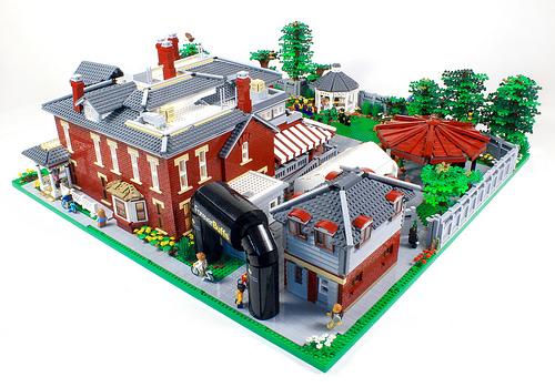 Koenig Alumni Center - CU Boulder: A LEGO Build