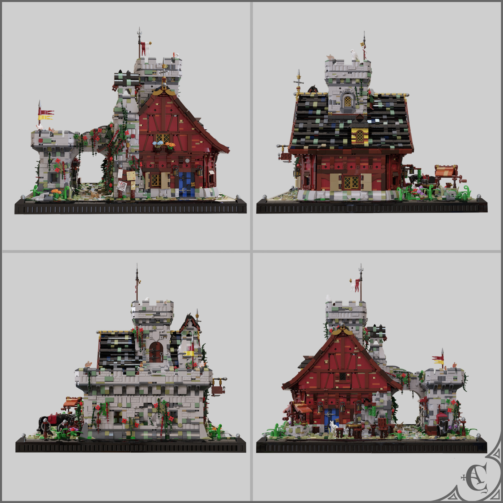 Guarded Inn 6067 Remastered - Four views