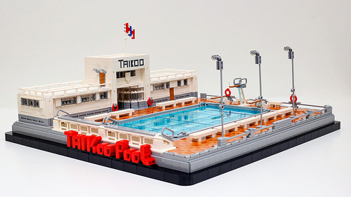 Lego Swimming Pool Archives The Brothers Brick The