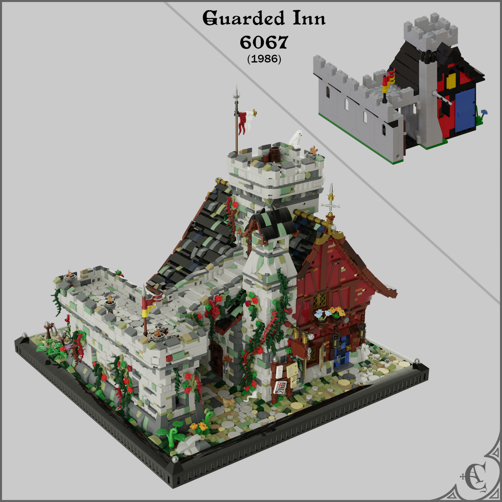 Guarded Inn 6067 Remastered - Comparision