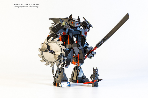 Lego batman bat mech (76117 optimized version)