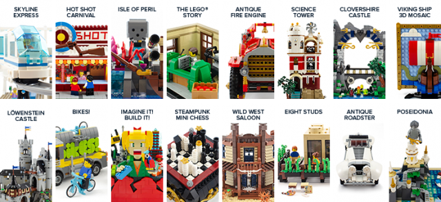 Crowdfunding for LEGO and BrickLink's AFOL Designer Program sets has started [News]