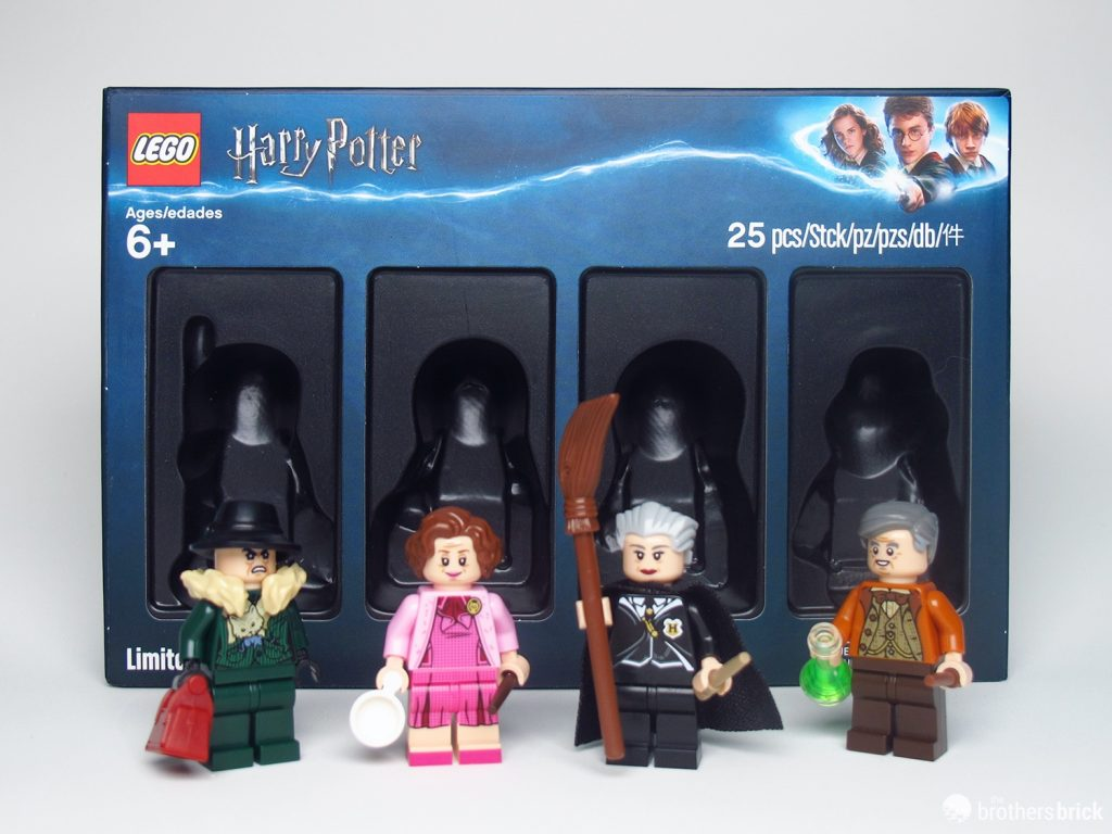 Lego 5005254 Harry Potter Bricktober 2018 Minifigure Exclusive Review The Brothers Brick The Brothers Brick