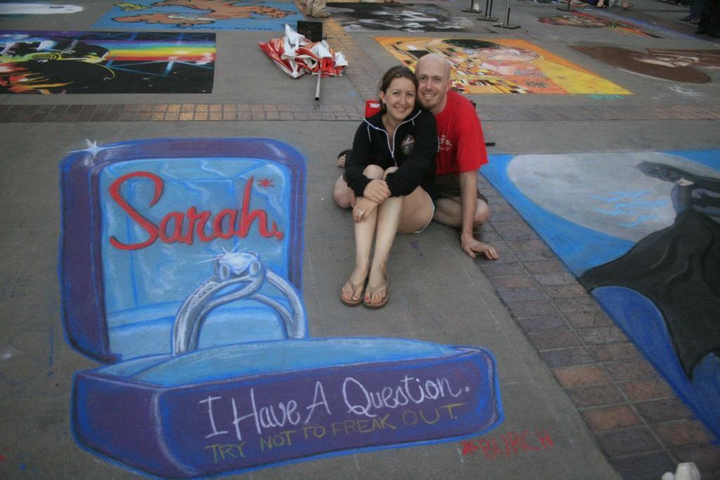 El prometido de Sarah.