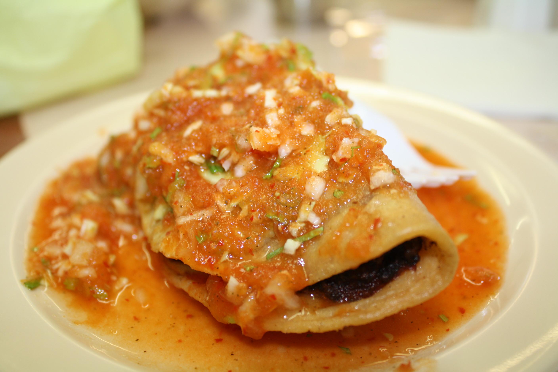 Tacos de camarón. (Foto Agustím Durán/El Pasajero).