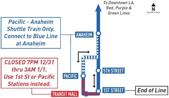 Blue Line New Year