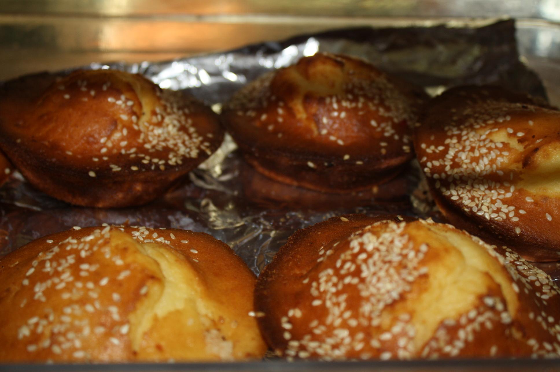 Quesadillas, un pan de dulce salvadoreño. (Foto de Agustín Durán/El Pasajero).