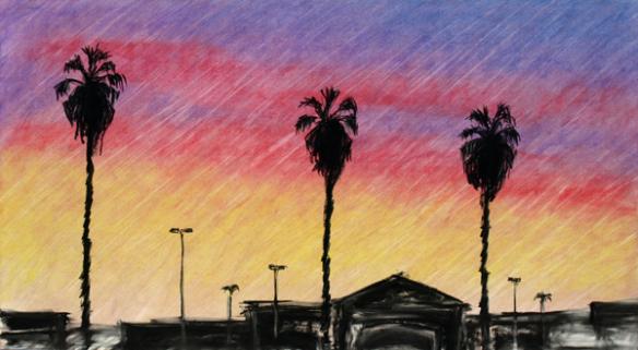 """El cartel diseñado por Ramón Ramírez como parte de la serie """"Metro Through the Eyes of Artists""""."""