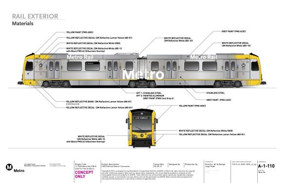Ilustración de los nuevos trenes que el Departamento de Servicios Creativos de Metro entregó a Kinkisharyo.