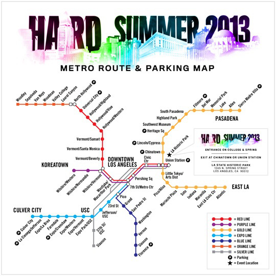 Hard Summer rail
