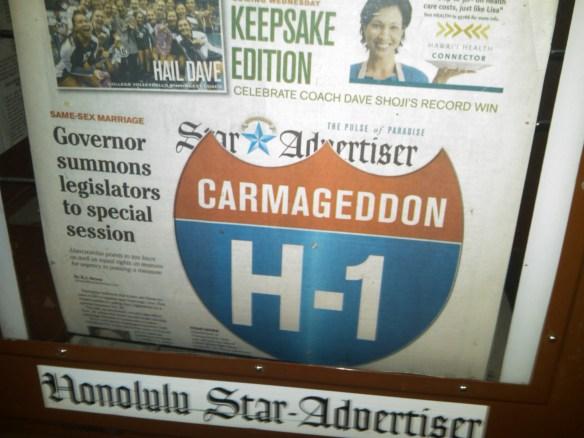 Carmaggedon Hawaii