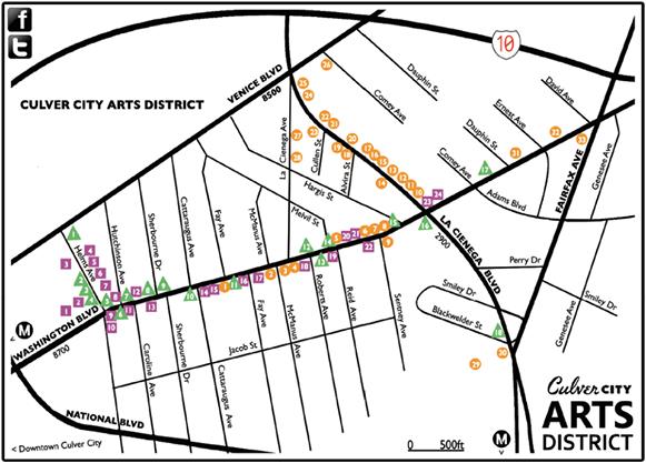 Culver City arts district