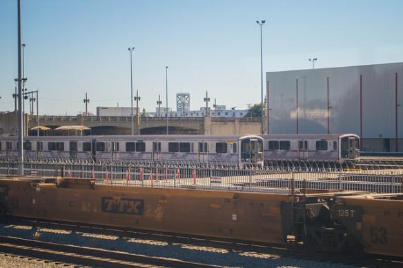 Vista de los vagones de Metro. Foto: Jon Ross Alexander/Metro.