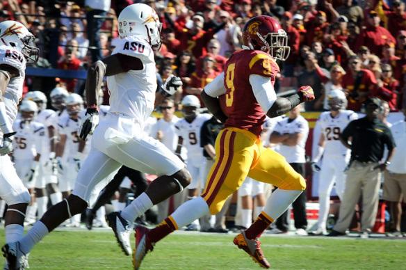 Los Trojans de USC se enfrentarán a Fresno State este sábado. Foto: Neon Tommy via Flickr c.c.