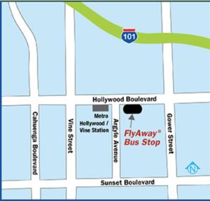 FlyAway map
