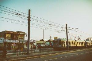 Tren de la Línea Dorada. Foto: Steve Hymon/Metro.