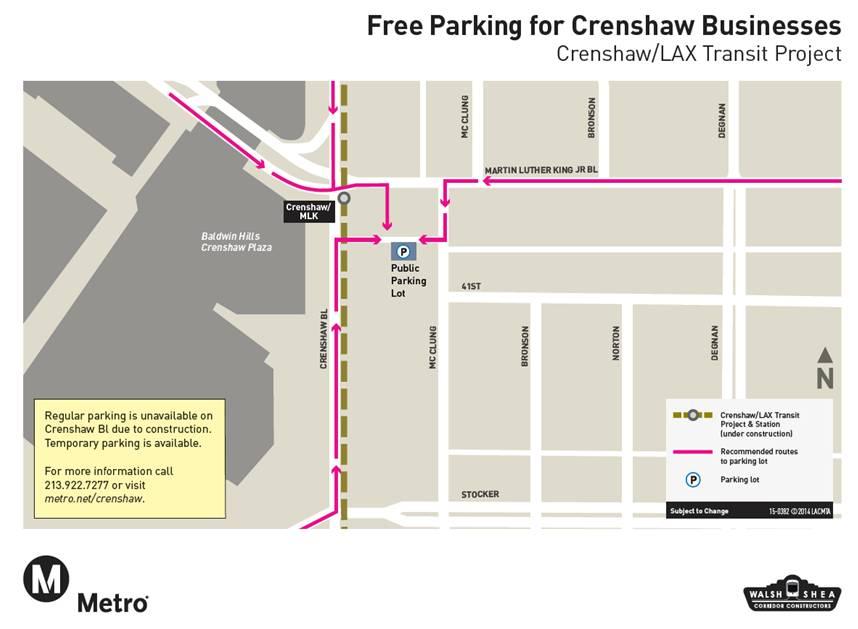parking Crenshaw