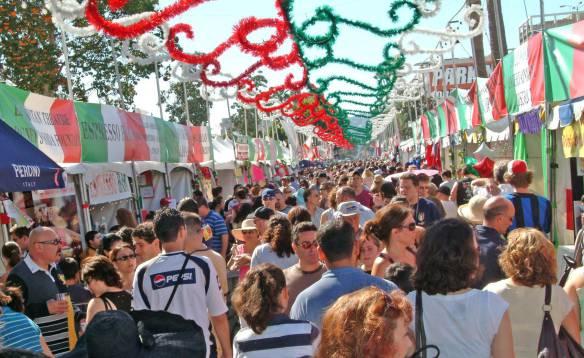 Festival de San Genaro. Foto oficial de Facebook.