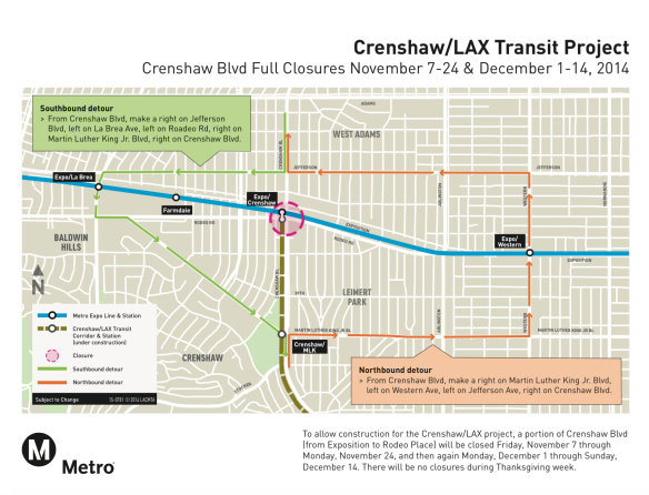 crenshaw-closures-detour-map