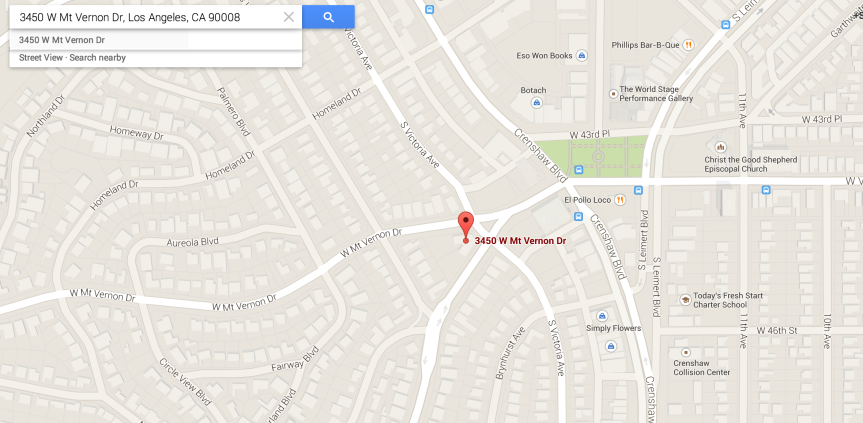 map crenshaw center