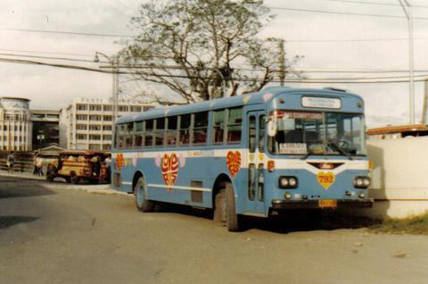 Autobús del amor de los 80. Foto: RADC via Flickr.