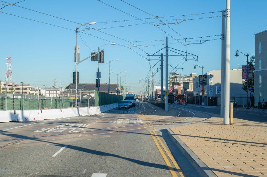 Las vías serán rebuscadas del centro de First Street hacia el norte.