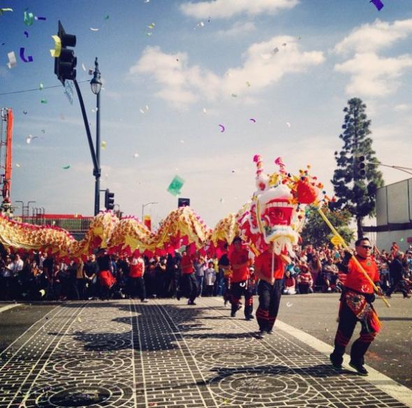 desfile chino