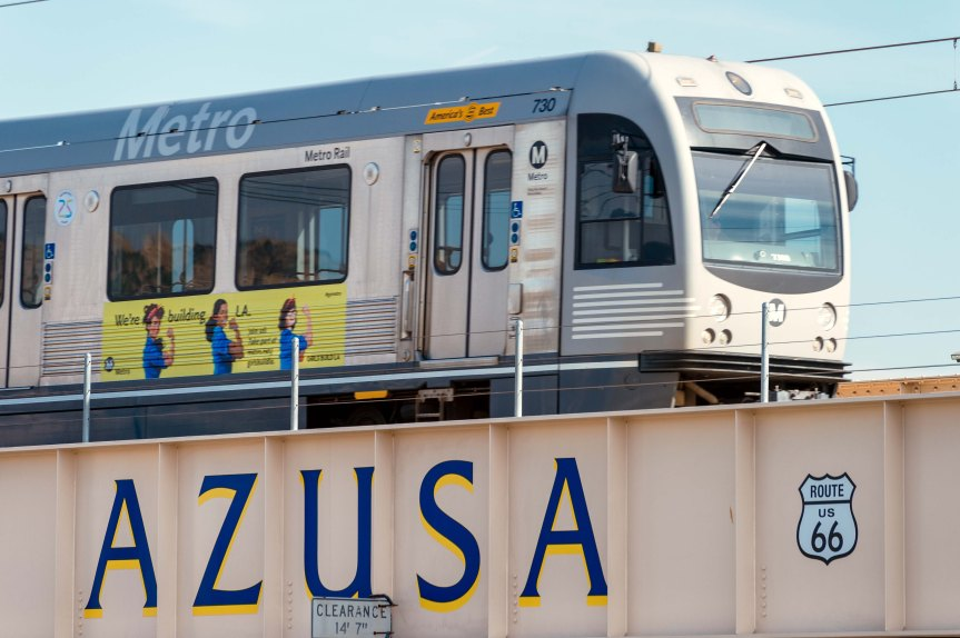 Gold Line Extension to Azusa