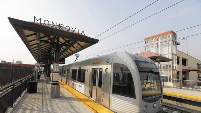 Estación Monrovia. Foto: LATimes.