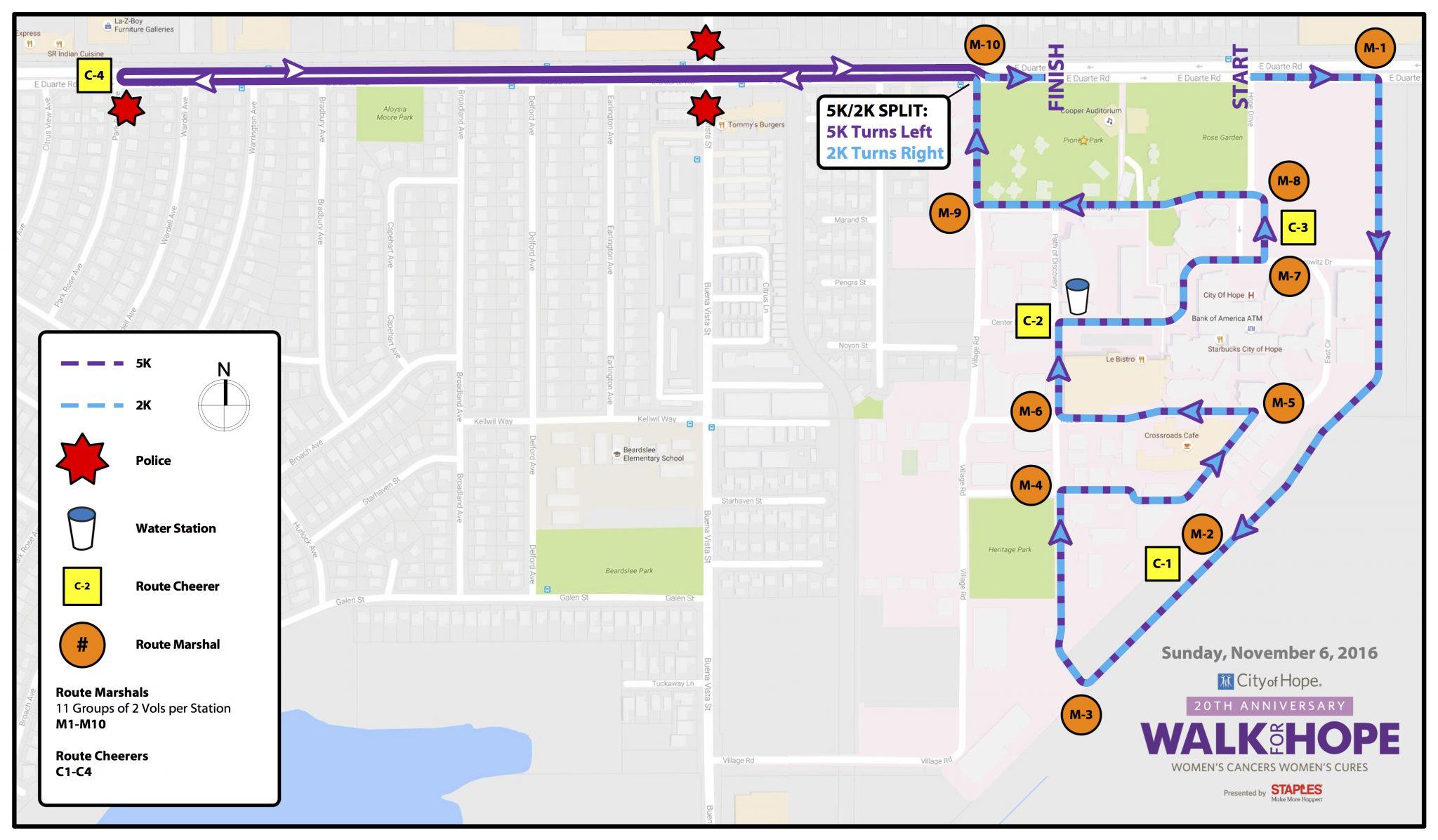 2016-Walk-for-Hope-LA-Route-Map
