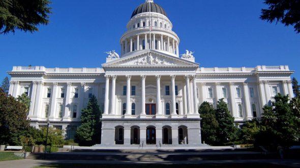 El Capitolio en Sacramento.
