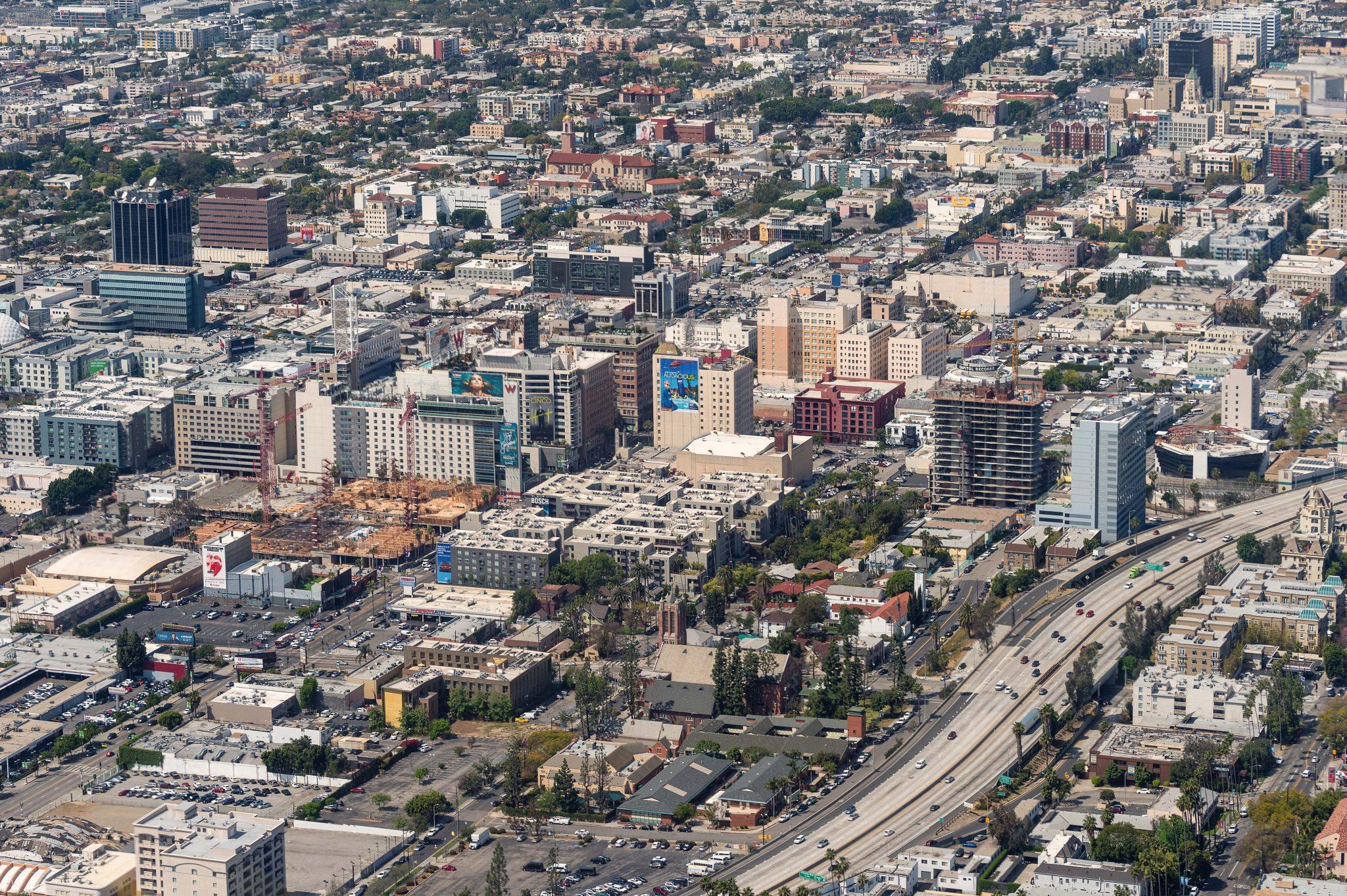 Hollywood y la autopista 101