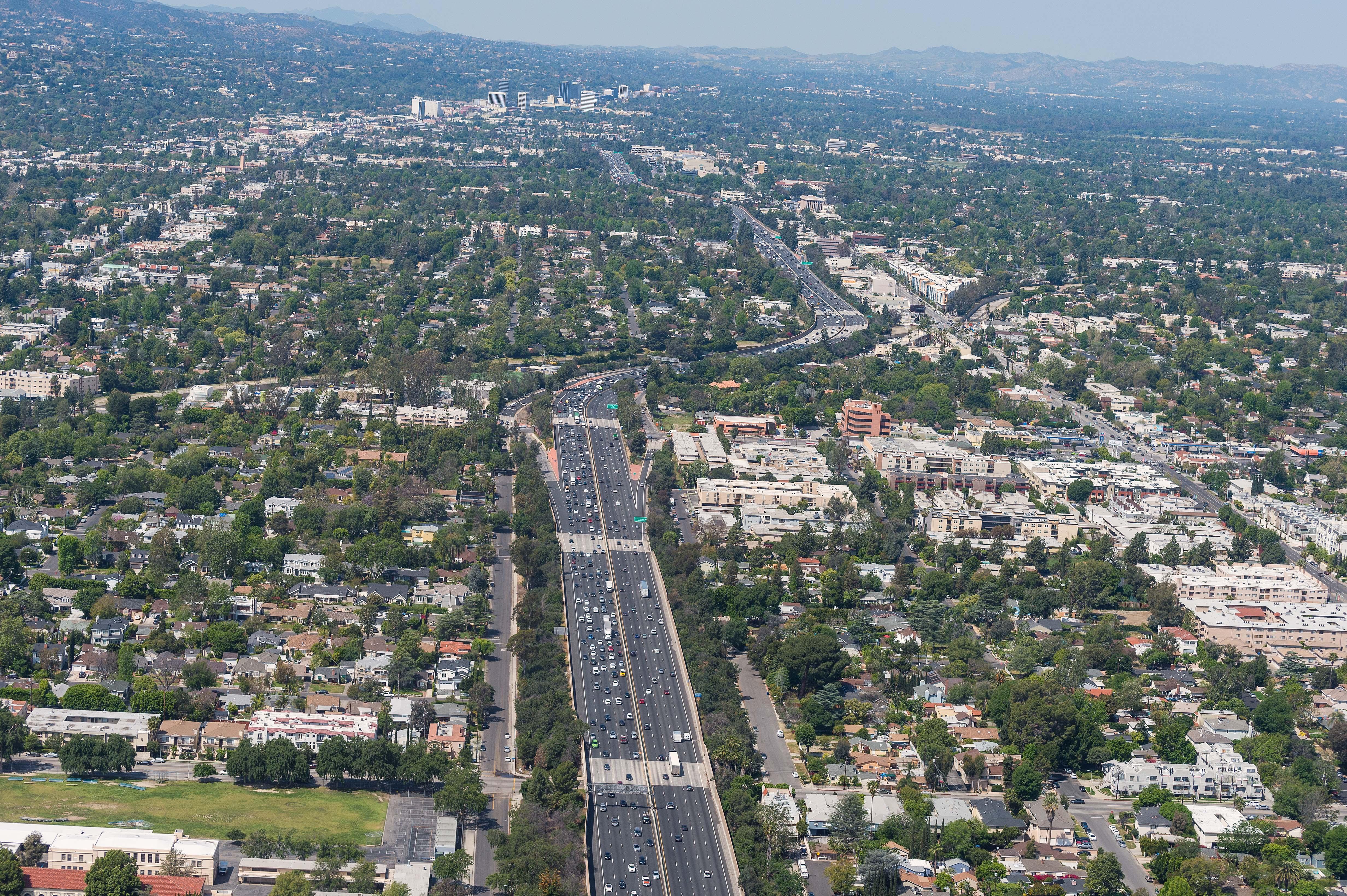 Vista aérea de L.A