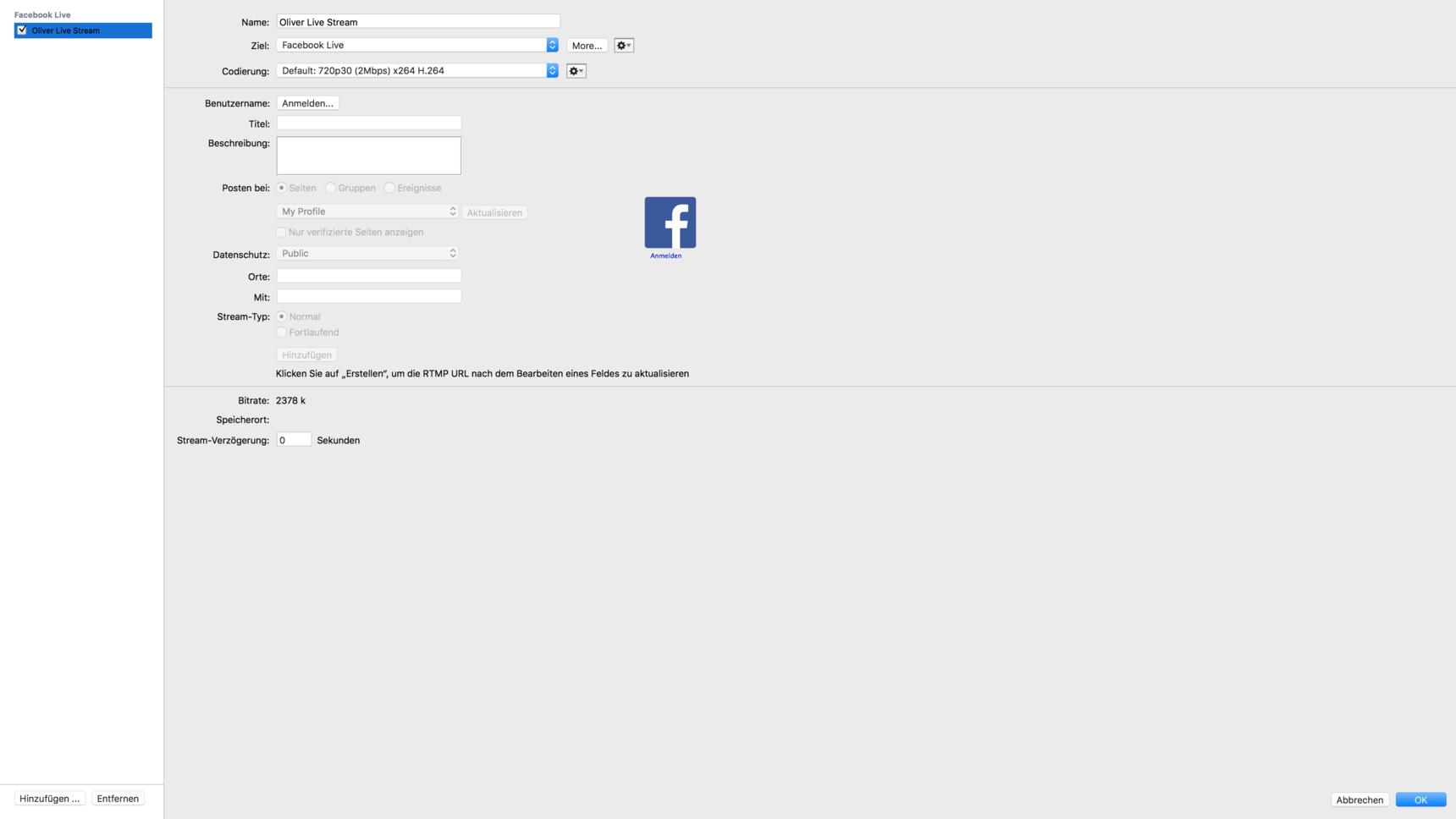 0 facebook anmelden