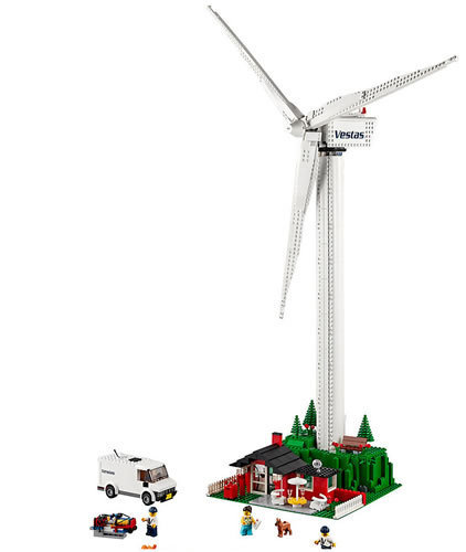 LEGO Vestas Wind Turbine #10268 (#4999) - What Lights Do I Use For