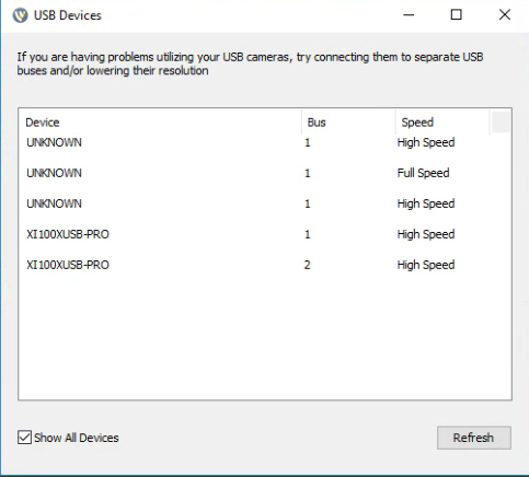 USB Bandwidth Error - Wirecast Streaming-Recording Q&A
