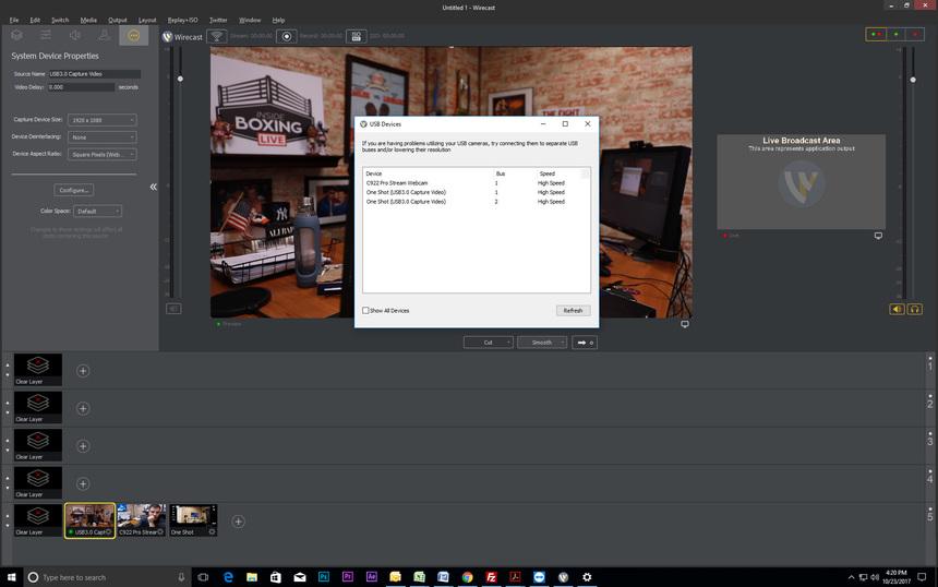 USB Bandwidth Error - Wirecast Streaming-Recording Q&A - Telestream