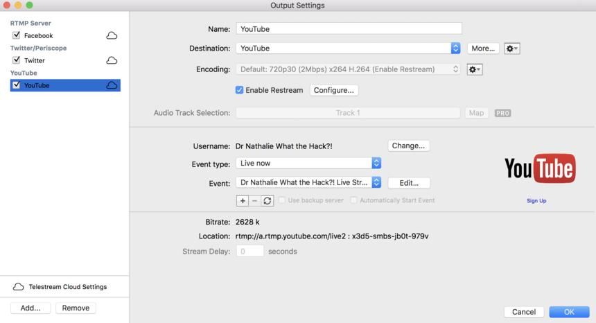 Restreaming Audio Echo - Wirecast Restream & Live Captions Q&A