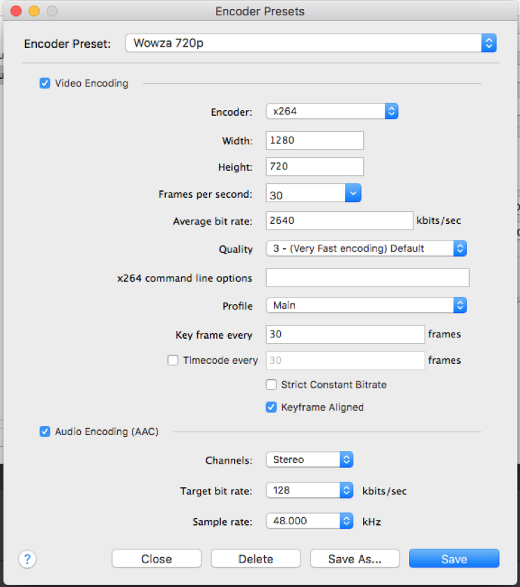 Issues streaming to Wowza Streaming Cloud? - Wirecast Streaming