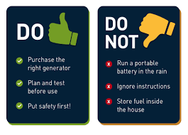 Generator Safety and Carbon Monoxide Information