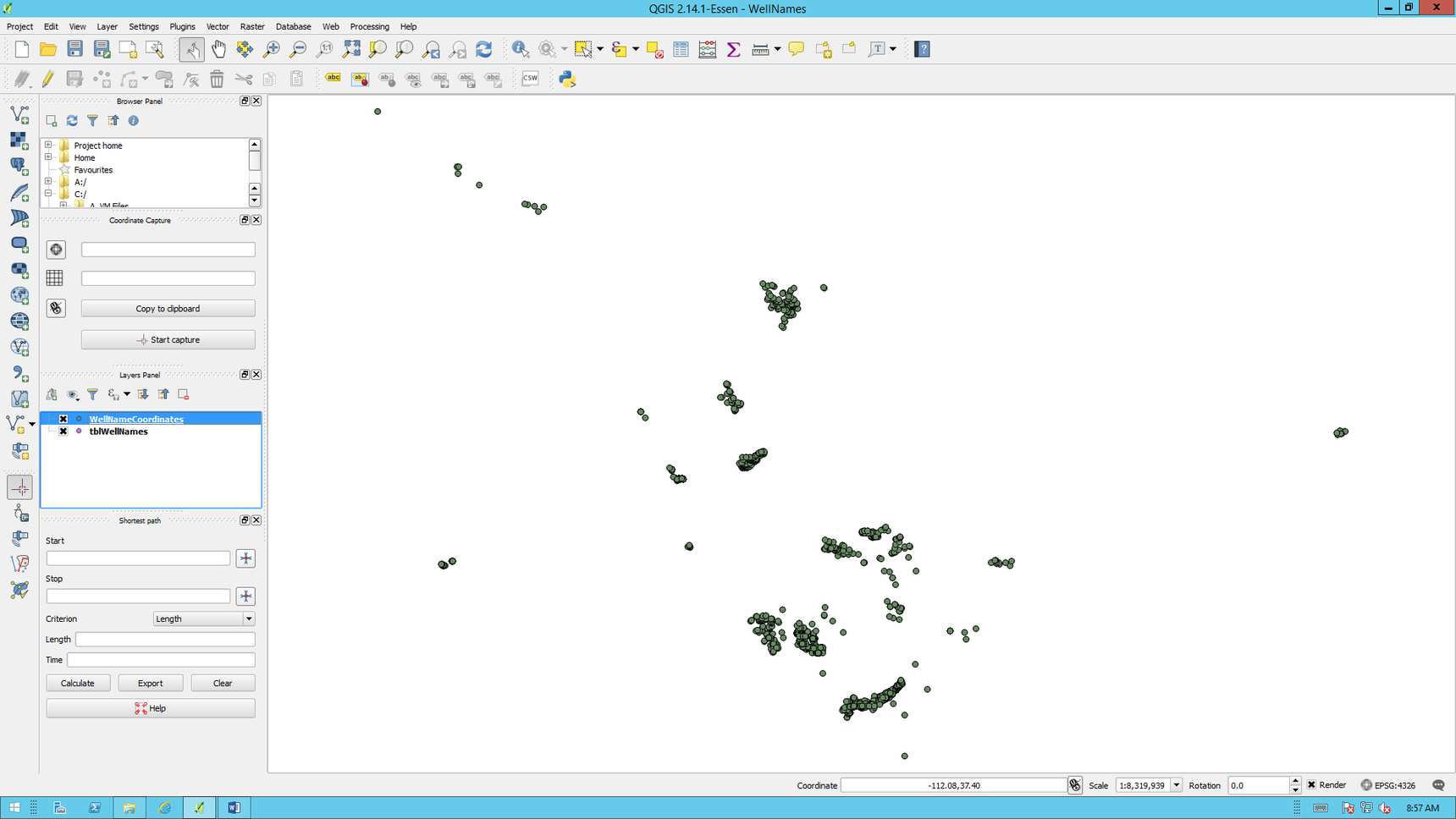Creating a Shapefile Using Latitude and Longitude Coordinates - BI