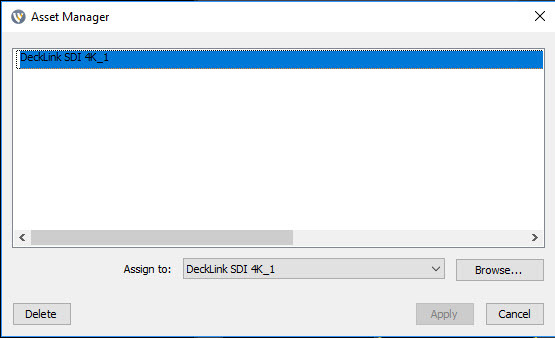 no video/audio from Blackmagic Decklink SDI 4K - Wirecast Capture