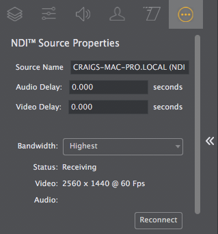 Put a delay on the VIDEO of a desktop presenter feed