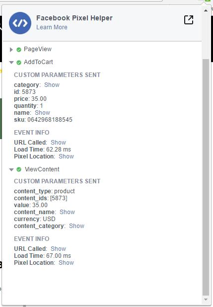 facebook pixel integration addtocart segment questions segment