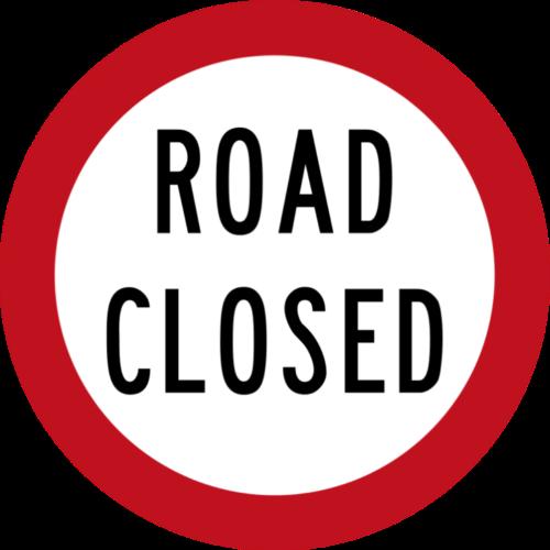 Naughright Road Closure 7/17