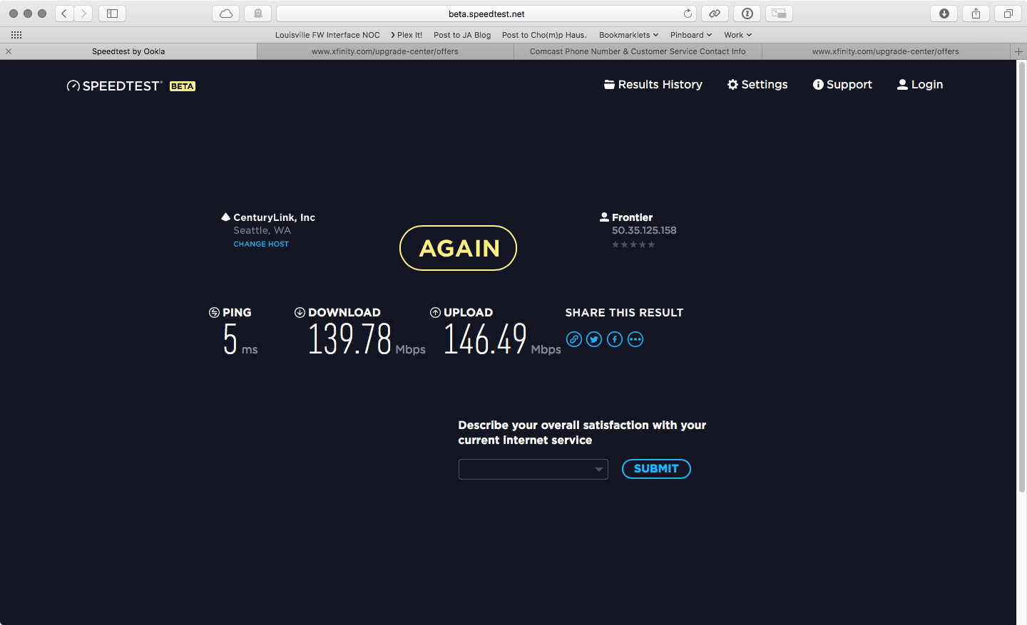 Speed Test Frontier >> Speed Test Inaccurate Discussion Topics Eero Community