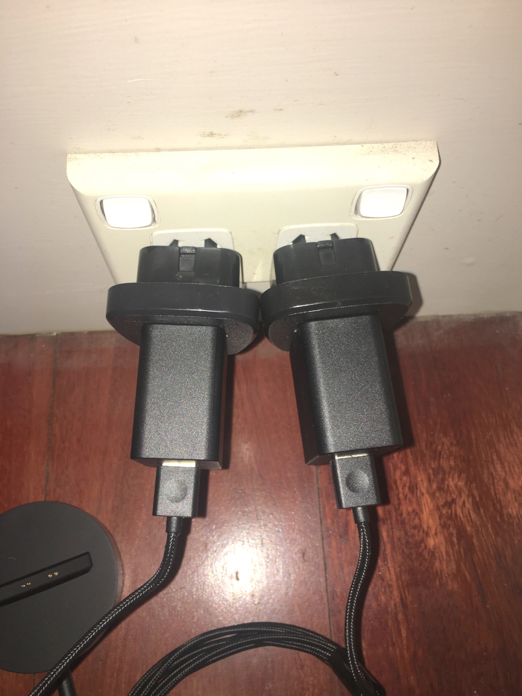 Australian Power Adaptors Are Woeful Neeo Remote Brain Planet Not Only Do We Get A Couple Of Ugly Cheap And Bulky To Add On The Default Chargers But You Cannot Actually Plug Them In Side By