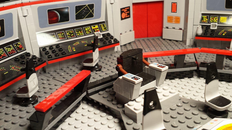 Megabloks Star Trek Bridge What Lights Do I Use For A Specific