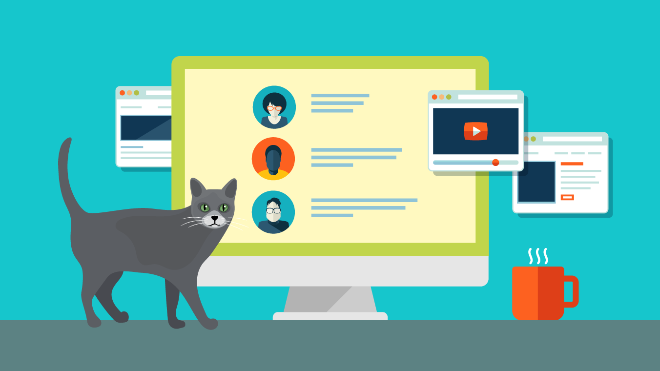 Forums about pets, social networks: a selection of sites